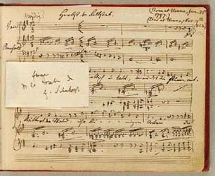 Franz Schuberts sang 'Herbst'