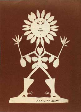 See paper cuts by Hans Christian Andersen here