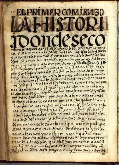 El primer comienzo de este dicho libro, pág. 15