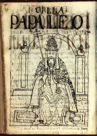 Pope Leo III (p. 39)