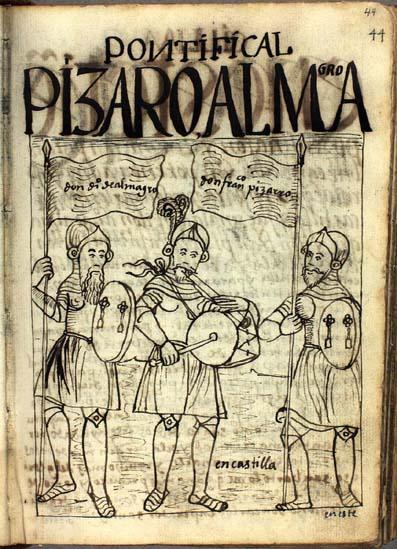 Don Diego de Almagro y don Francisco Pizarro en Castilla (pág. 44)