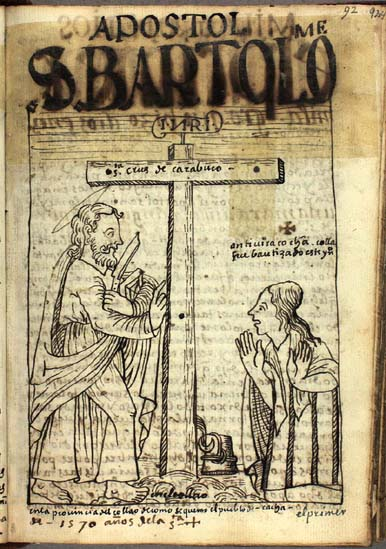 Saint Bartholomew in the province of Collao (p. 92)