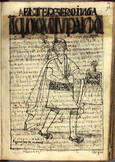 The third Inka, Lloque Yupanqui Inka (96-97)