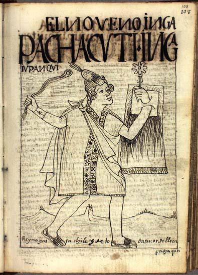 The ninth Inka, Pachacuti Inka (108-109)
