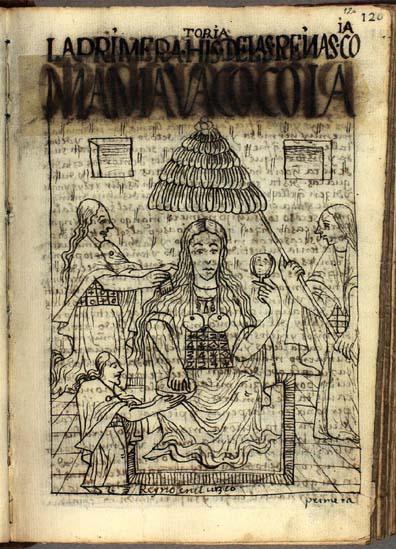 La primera quya, Mama Uaco (pág. 120)