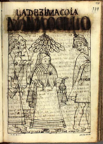 La décima quya, Mama Ocllo (pág. 138)