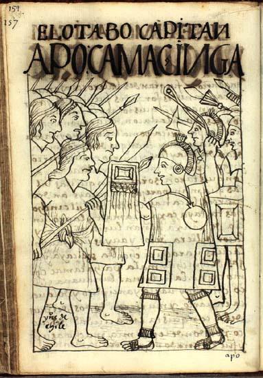 The eighth captain, Camac Inka (159-160)