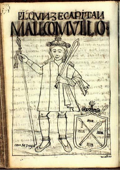 El décimoquinto capitán, Malco Mullo (pág. 173)