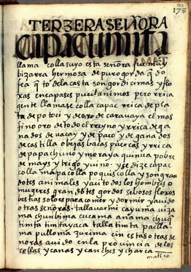 La tercera señora, Umita Llama, pág. 180