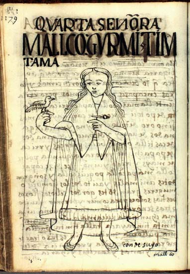 The fourth lady, Mallco Guarmi Timtama (181-182)