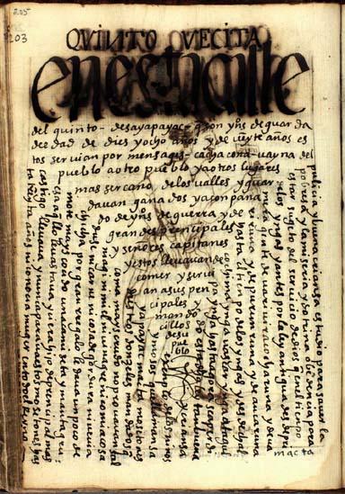 El quinto grupo de edad, mandaderos de dieciocho años, pág. 205