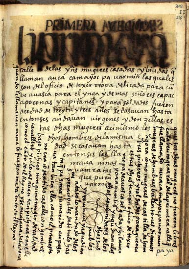 El primer grupo de edad de mujeres, tejedoras de treinta y tres años, pág. 218