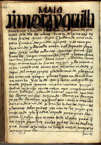 Mayo, gran búsqueda, pág. 247