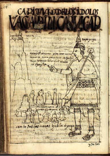 Idols and waqas of the Inka (263-264)