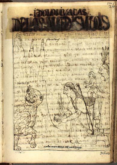 Idols and waqas of the Antisuyus (270-271)