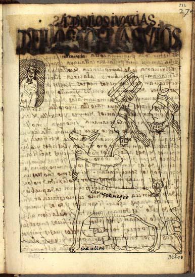 Idols and waqas of the Qullasuyus (272-273)