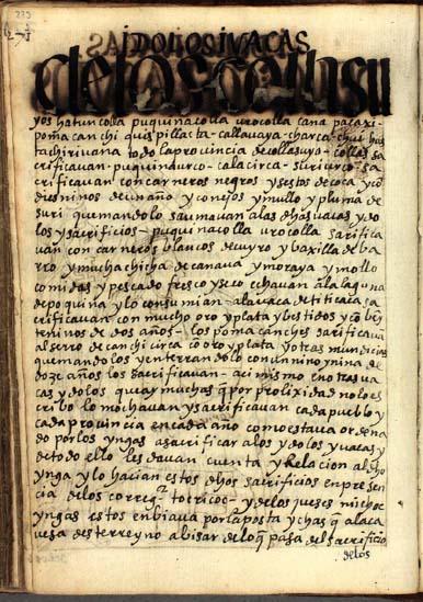 Ídolos y waqas de los Collasuyos, pág. 273