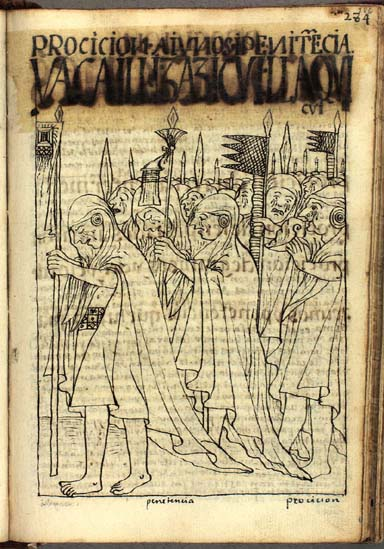 Processions, fasts, and penitence (286-288)