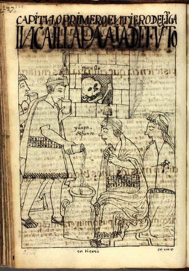 Burials of the Inka: Inka illapa, aya, the deceased Inka, his corpse (p. 289)
