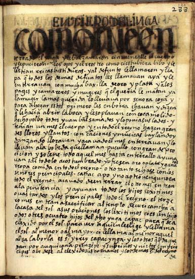 Entierros del Ynga, pág. 290