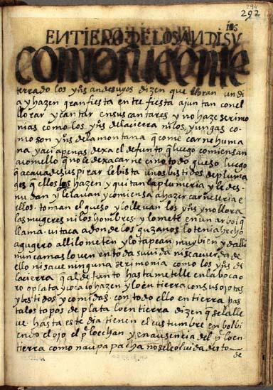 Entierros de los Andesuyos, pág. 294