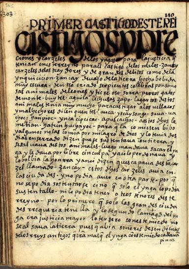 Cárceles de los Yngas, pág. 305