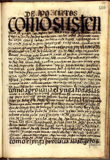 Los depósitos del Ynga, pág. 338
