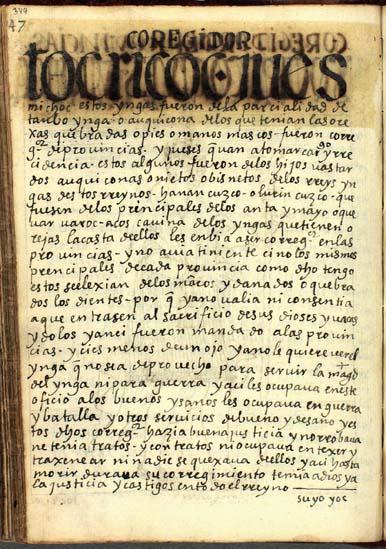 Corregidor de provincias, pág. 349