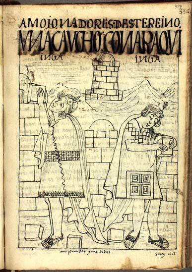 Amojonadores de este reino: Una Caucho Ynga y Cona Raqui Ynga (pág. 354)