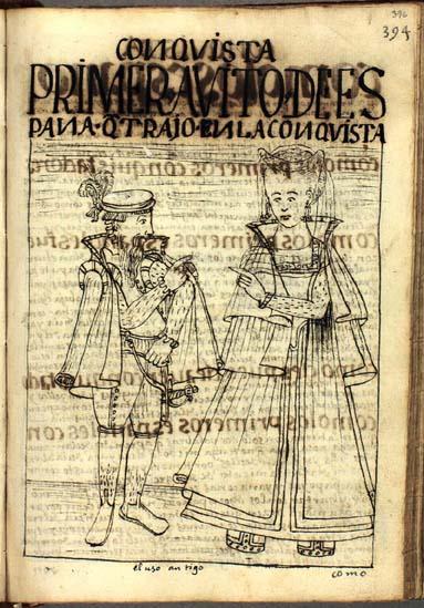 La vestimenta de los primeros españoles en el Perú (pág. 396)