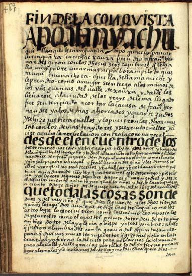 Fin de la rebelión contra la corona, pág. 437