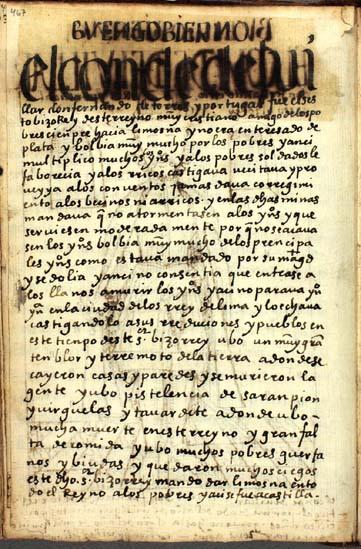 Don Fernando Torres y Portugal, el sexto (en realidad, el séptimo) virrey del Perú, pág. 467