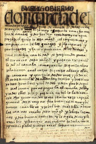 Don García Hurtado de Mendoza, el séptimo (en realidad, el octavo) virrey del Perú, pág. 469