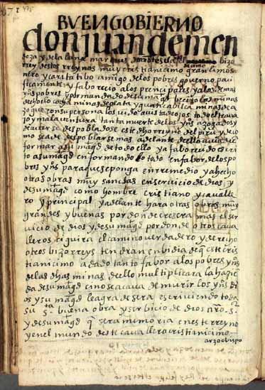 Don Juan de Mendoza y Luna, el décimo (en realidad, el undécimo) virrey del Perú, pág. 475