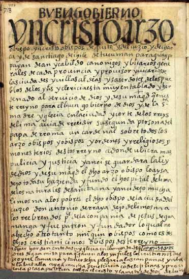 Obispos y arzobispos, pág. 477