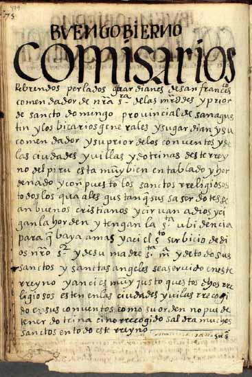 Comisarios generales, pág. 479