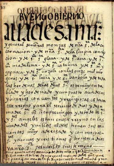 Abadesas mayores y señoras monjas de todas las órdenes, pág. 487