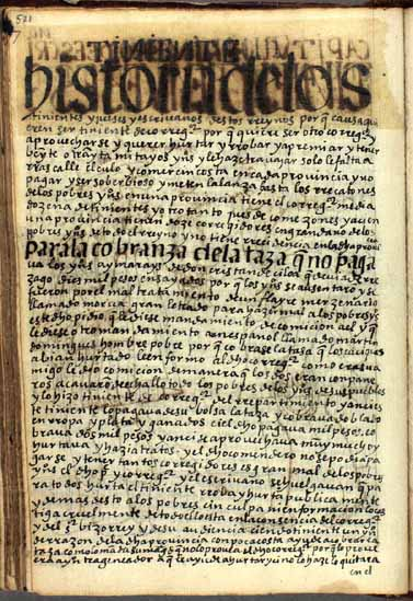 History of the lieutenants, judges, and notaries (520-529)