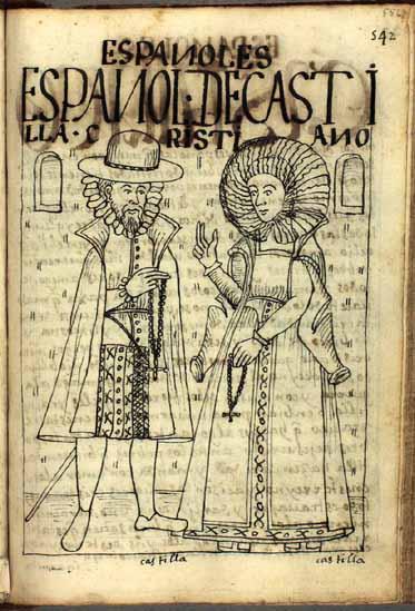 Españoles, criollos y mestizos, pág. 548