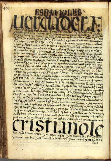 Prólogo a los itinerantes, mayordomos y mercaderes españoles, pág. 559