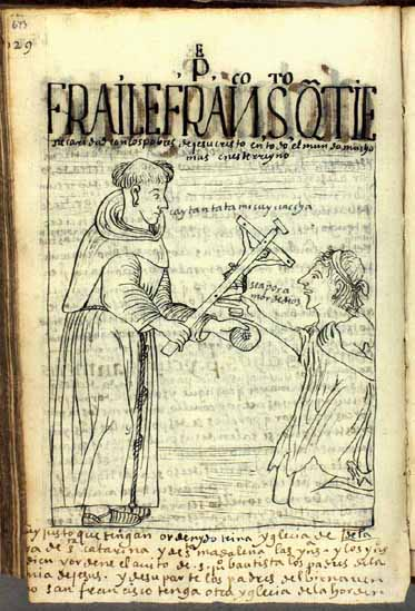 """A Franciscan friar serving the poor through charity: """"Eat this bread, poor fellow."""" (p.643)"""