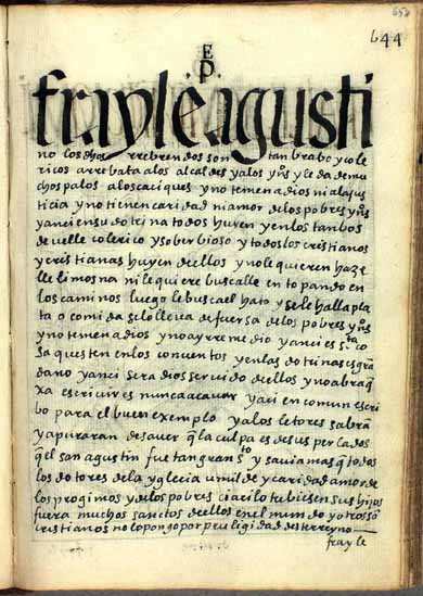 Frailes soberbiosos de este reino, pág. 658