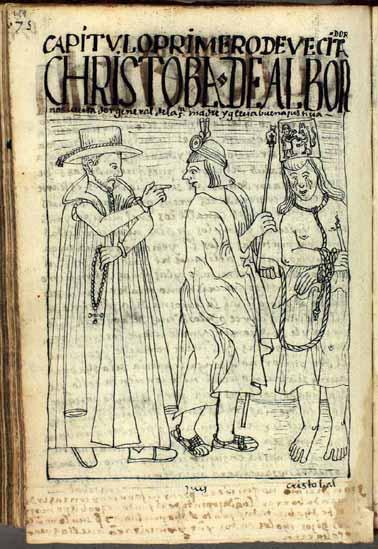 The inspection tour of Cristóbal de Albornoz (689-691)