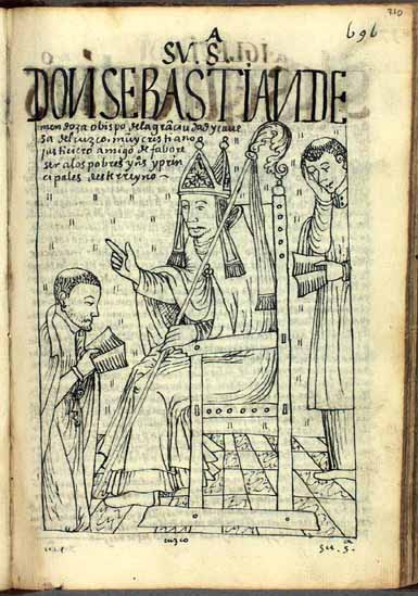 Bishop Sebastián de Mendoza of Cuzco (actually, Fernando González de Mendoza), good Christian, lover of justice, and friend of the poor Indians and native lords of this kingdom (p.710)