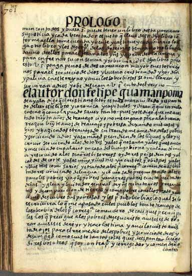 Declaration of the author of this book and chronicle (714-716)