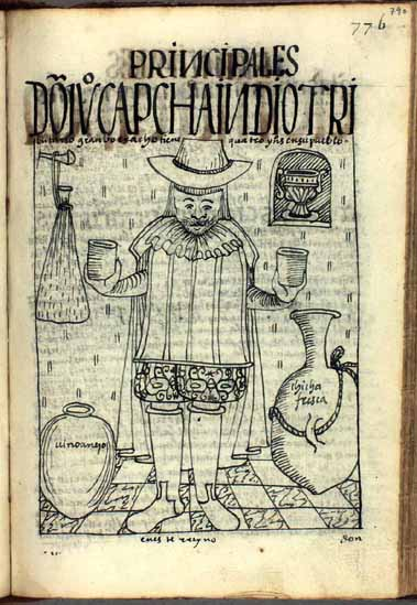 Don Juan Capcha, tributary Indian, great drunkard, and enemy of all Christians (p.790)