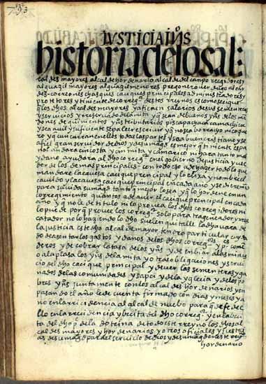 Alcaldes mayores de cabildo, pág. 807