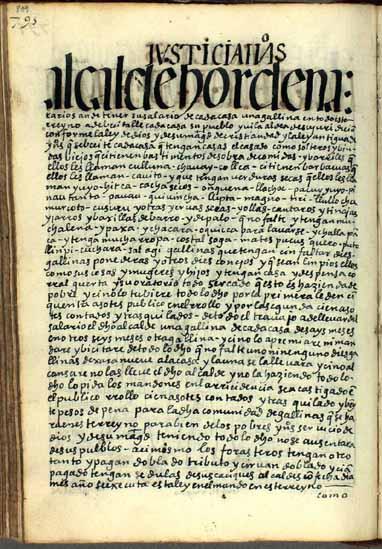 Alcaldes ordinarios de su Magestad, pág. 809