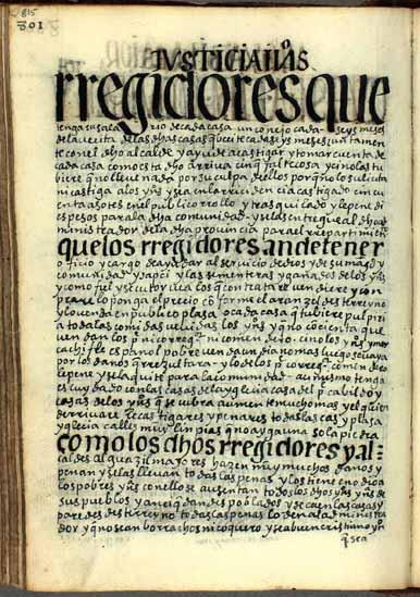 Administradores despenseros andinos, pág. 815
