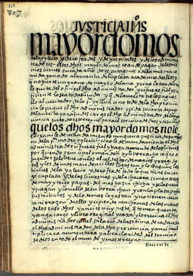 Mayordomos de las iglesias, las cofradías y los hospitales, pág. 821